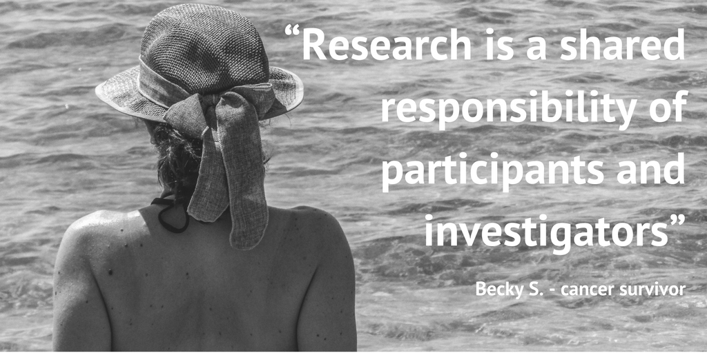 """Research is a shared responsibility of participants and investigators"""