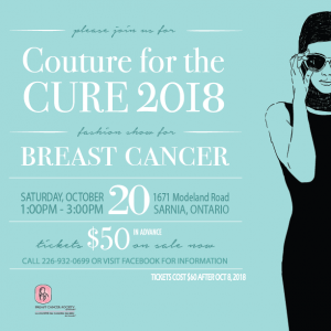 Couture for the Cure 2018