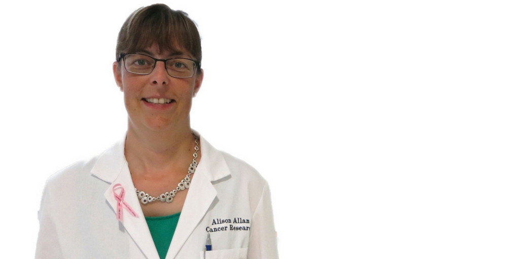 Dr. Alison Allan, why do you walk on Mother's Day?