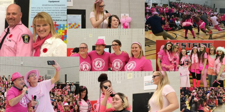 The 2017 Dress for the Cause Winner: Westside Secondary School in Orangeville, Ontario raised $20,410