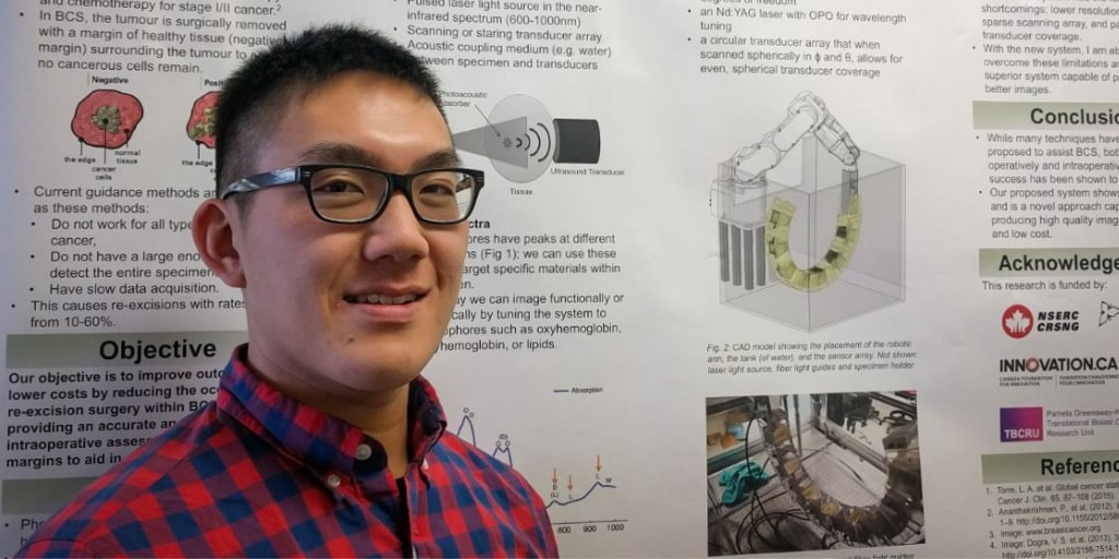 Lawrence Yip Is Advancing Knowledge In Biomedical Optics
