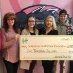 Westside Secondary School is the Dress for the Cause top fundraiser for five consecutive years!