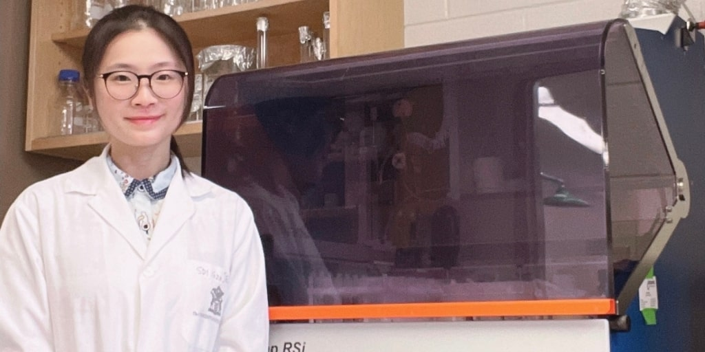Shanshan Zhong is developing therapies which use the patients' immune cells to stop the growth of breast tumours.