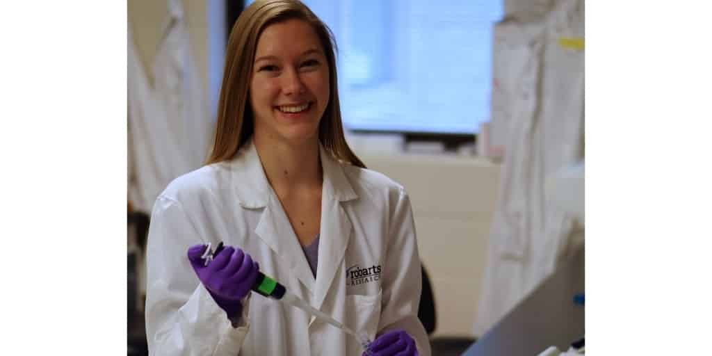 Veronica Dubois is developing CAR-T cell therapies to target breast cancer tumours